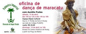 Oficina de maracatu com Aurélio Prates
